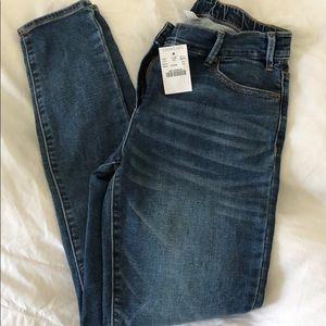 Girls denim skinny jeans